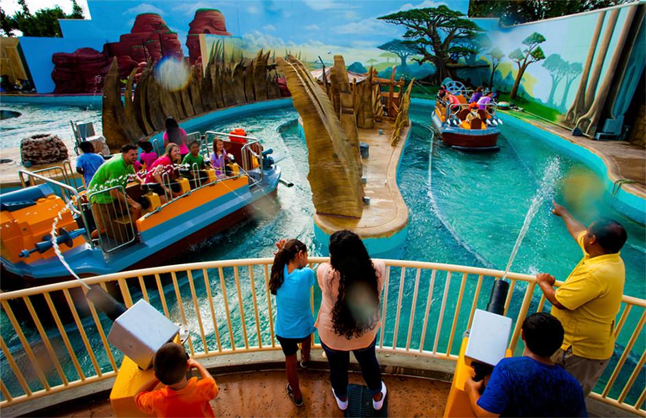 LEGOLAND FLORIDA WORLD OF CHIMA ATTRACTION