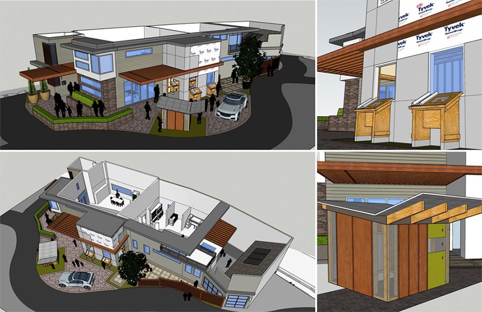 Creative vision house